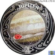 50 Cents - Elizabeth II (4th Portrait - Planetary Coins - Jupiter) -  reverse