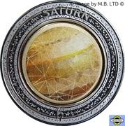 5 Dollars - Elizabeth II (4th Portrait - Planetary Coins - Saturn) -  reverse