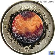 2 Dollars - Elizabeth II (4th Portrait - Planetary Coins - Mars) -  reverse
