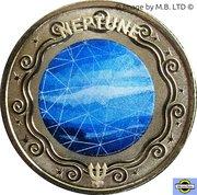 1 Dollar - Elizabeth II (4th Portrait - Planetary Coins - Neptune) -  reverse