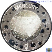 5 Cents - Elizabeth II (4th Portrait - Planetary Coins - Mercury) – reverse