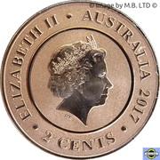 2 Cents - Elizabeth II (4th Portrait - Planetary Coins - Venus) -  obverse