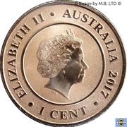 1 Cent - Elizabeth II (4th Portrait - Planetary Coins - Pluto) -  obverse