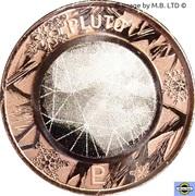1 Cent - Elizabeth II (4th Portrait - Planetary Coins - Pluto) -  reverse