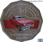50 Cents - Elizabeth II (4th Portrait - 03 - Ford Mainline Utility) -  reverse