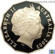 50 Cents - Elizabeth II (4th Portrait - Volunteers) -  obverse