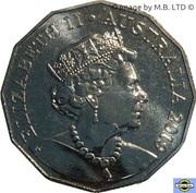 50 Cents - Elizabeth II (6th portrait) -  obverse