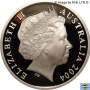 5 Dollars - Elizabeth II (4th Portrait - AFL - Australia's Own Game) -  obverse