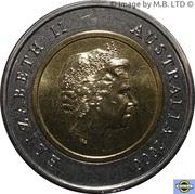 5 Dollars - Elizabeth II (4th Portrait - Phar Lap) -  obverse