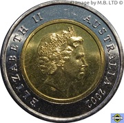 5 Dollars - Elizabeth II (4th Portrait - Sunda Strait) -  obverse