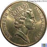 5 Dollars - Elizabeth II (3rd Portrait - ANZAC 75 Years) -  obverse