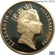 5 Dollars - Elizabeth II (3rd Portrait - The Enfranchisement of Women - Proof) -  obverse
