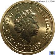 5 Dollars - Elizabeth II (4th Portrait - Life of Sir Donald Bradman) -  obverse