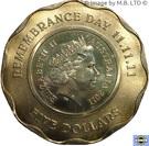 5 Dollars - Elizabeth II (4th Portrait - Remembrance Day) – obverse