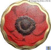 5 Dollars - Elizabeth II (4th Portrait - Remembrance Day) -  reverse