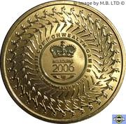 5 Dollars - Elizabeth II (4th Portrait - XVIII Commonwealth Games - Melbourne 2006) -  reverse