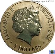 5 Dollars - Elizabeth II (4th Portrait - 400th Anniversary of Duyfken's Exploration of Australia) -  obverse