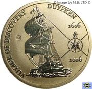5 Dollars - Elizabeth II (4th Portrait - 400th Anniversary of Duyfken's Exploration of Australia) -  reverse
