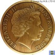 "5 Dollars - Elizabeth II (4th Portrait - ""Town Halls"" Sydney Town Hall) -  obverse"