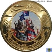 5 Dollars - Elizabeth II (4th Portrait - Distinctly Australian) -  reverse