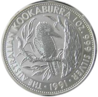 5 Dollars Elizabeth Ii 3rd Portrait Quot Kookaburra