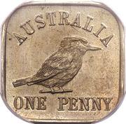 1 Penny - George V (Kookaburra Pattern - Type 12 (Renniks 11)) – reverse