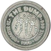 25 Cents - Elizabeth II (The Dump) -  reverse