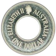 1 Dollar - Elizabeth II (The Holey Dollar) -  obverse