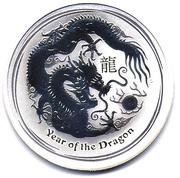 """1 Dollar - Elizabeth II (""""Lunar Year Series II"""" Silver Bullion Coinage) – reverse"""