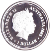 1 Dollar - Elizabeth II (The Queen's Birthday Parade) -  obverse