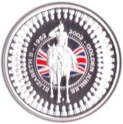 1 Dollar - Elizabeth II (The Queen's Birthday Parade) -  reverse