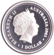 1 Dollar - Elizabeth II (St. Edward's Crown) -  obverse