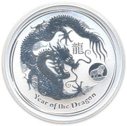 "1 Dollar - Elizabeth II (""Lunar Year Series II"" Lion Privy) -  reverse"