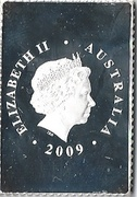 55 Cents - Elizabeth II (4th Portrait - Australia Post) -  obverse