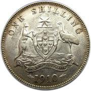 1 Shilling - Edward VII -  reverse