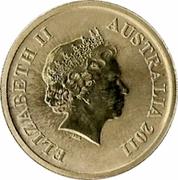 1 Dollar - Elizabeth II (4th Portrait - Macquarie Island) -  obverse