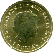 1 Dollar - Elizabeth II (End of WWI) -  obverse