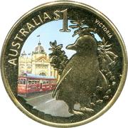 1 Dollar - Elizabeth II (Victoria) -  reverse