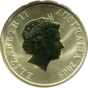 1 Dollar - Elizabeth II (South Australia) -  obverse