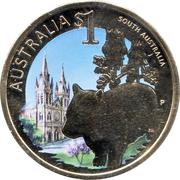 1 Dollar - Elizabeth II (South Australia) -  reverse