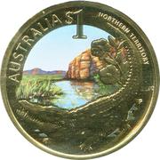 1 Dollar - Elizabeth II (Northern Territory) -  reverse