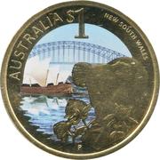 1 Dollar - Elizabeth II (New South Wales) -  reverse