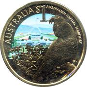 1 Dollar - Elizabeth II (Capital Territory) -  reverse