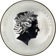 1 Dollar - Elizabeth II (Friendship with China) -  obverse