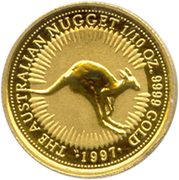 "15 Dollars - Elizabeth II (""Australian Nugget"" Gold Bullion Coinage) -  reverse"