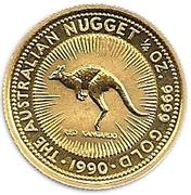 25 Dollars - Elizabeth II (3rd Portrait - Kangaroo - Gold Bullion Coin) -  reverse