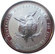 1 Dollar - Elizabeth II (4th Portrait - Australian Kookaburra) -  reverse