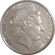 20 Cents - Elizabeth II (International Women's Day) -  obverse