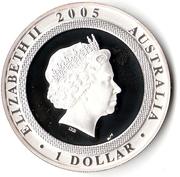 1 Dollar - Elizabeth II (End of World War II) -  obverse