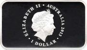 1 Dollar - Elizabeth II (First Banknote) -  obverse